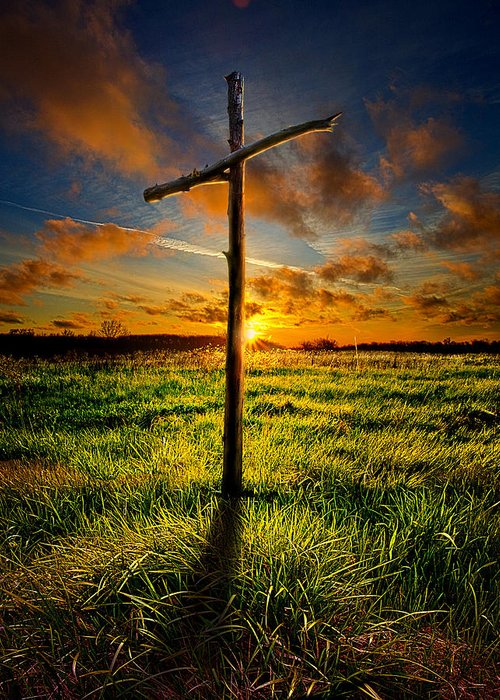 Good Friday Greeting Card featuring the photograph Good Friday by Phil Koch