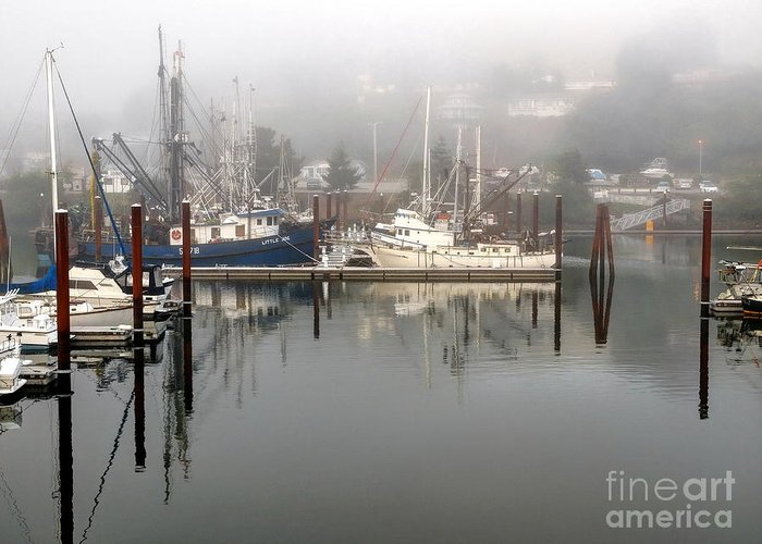 Harbor Greeting Card featuring the photograph Harbor by  FLJohnson Photography
