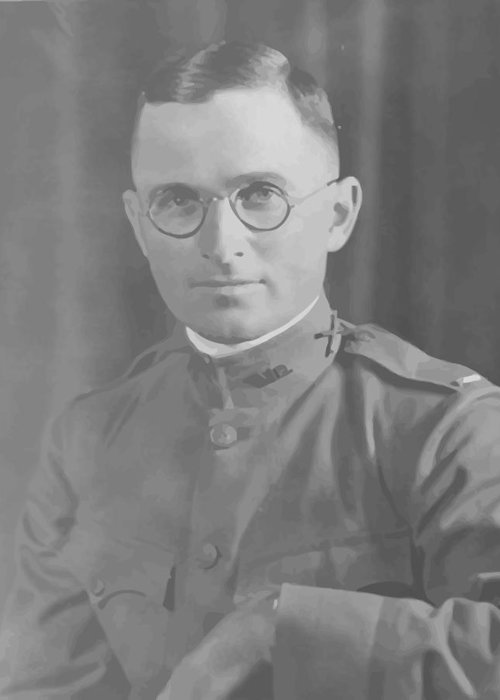 Truman Greeting Card featuring the painting Harry Truman During World War One by War Is Hell Store