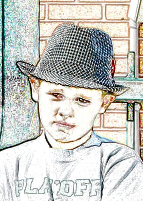 Hat Greeting Card featuring the photograph Hat Of A Hero by Lynn Reid