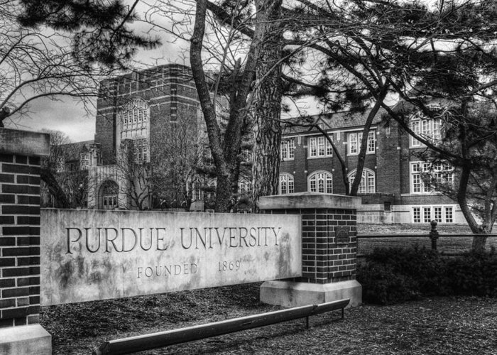 Purdue Greeting Card featuring the photograph Home Of The Boilers by Coby Cooper