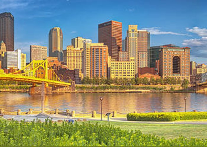 Pittsburgh Greeting Card featuring the photograph Idyllic Afternoon by Jennifer Grover
