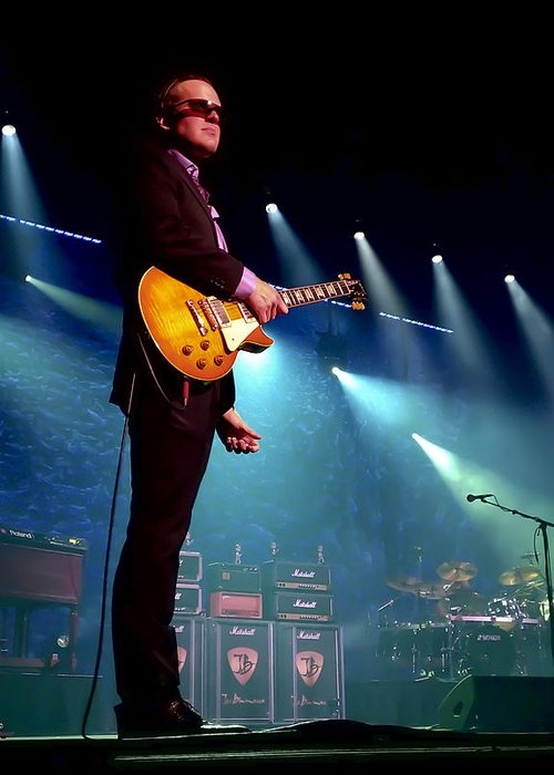 Joe Bonamassa Greeting Card featuring the photograph Joe Bonamassa 2 by Peter Chilelli