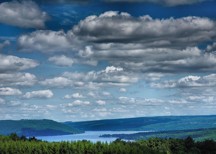 Lake Greeting Card featuring the photograph Keuka Landscape Iv by Steven Ainsworth