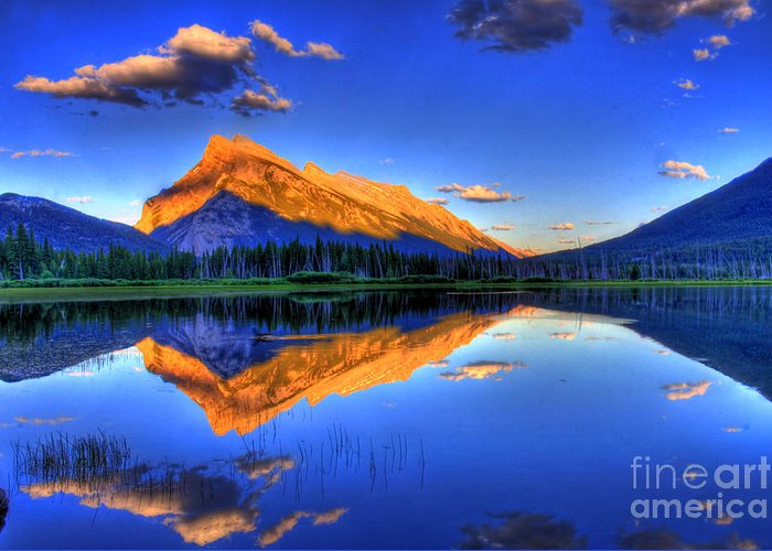 Mountain Greeting Card featuring the photograph Life's Reflections by Scott Mahon