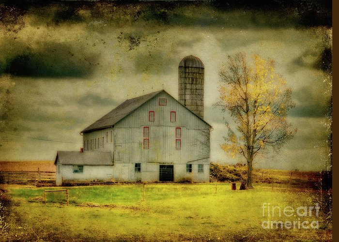 Barns Greeting Card featuring the photograph Looking For Dorothy by Lois Bryan