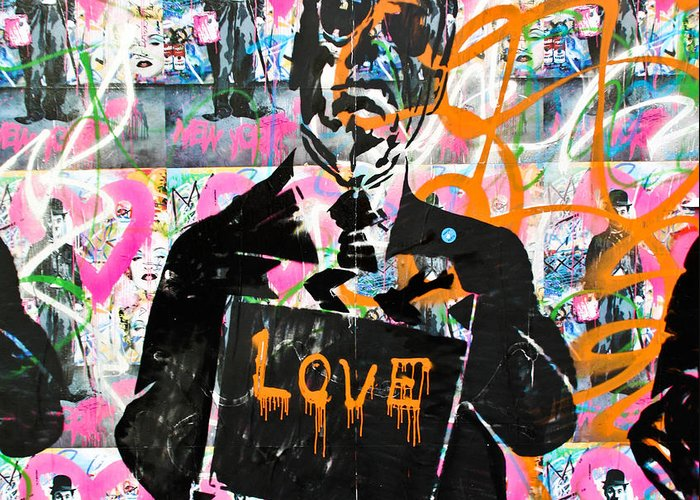 Darren Greeting Card featuring the photograph Love Chaplin by Darren Scicluna