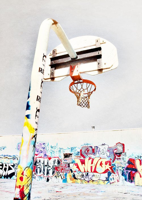 Basketball Greeting Card featuring the photograph March 23 2010 by Tara Turner