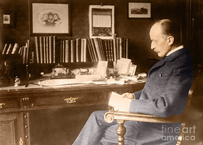 Science Greeting Card featuring the photograph Max Planck, German Physicist by Science Source