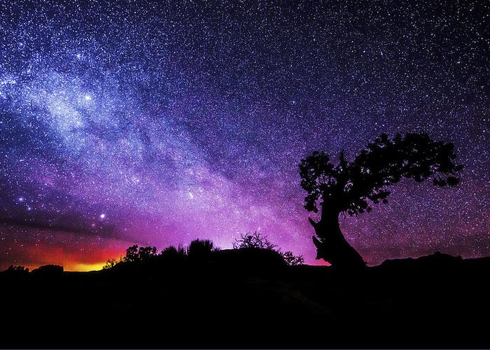 Moab Skies Greeting Card featuring the photograph Moab Skies by Chad Dutson