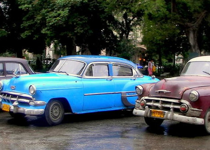 Cuba Greeting Card featuring the photograph Nostalgia by Karen Wiles