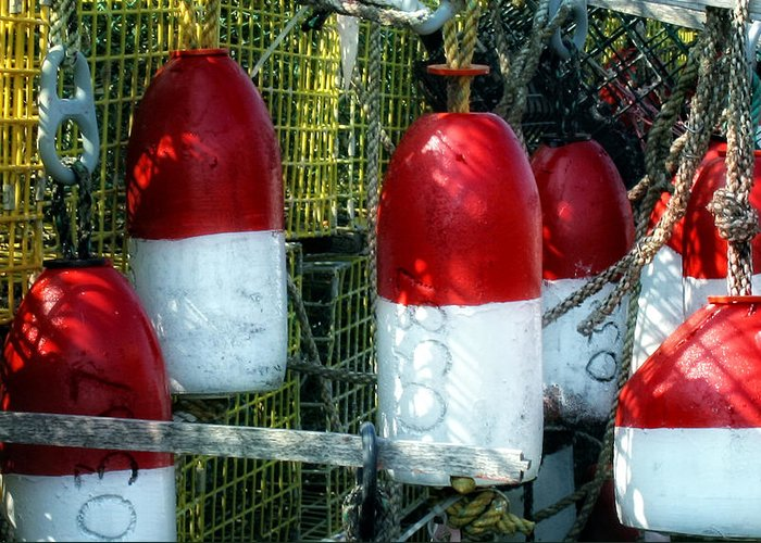 Bouys Greeting Card featuring the photograph Oh Bouy by Gina Cormier