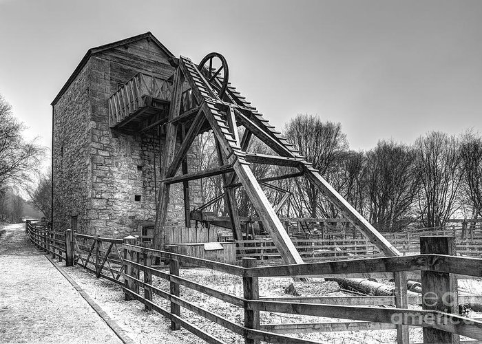 Mine Greeting Card featuring the photograph Old Mine by Adrian Evans
