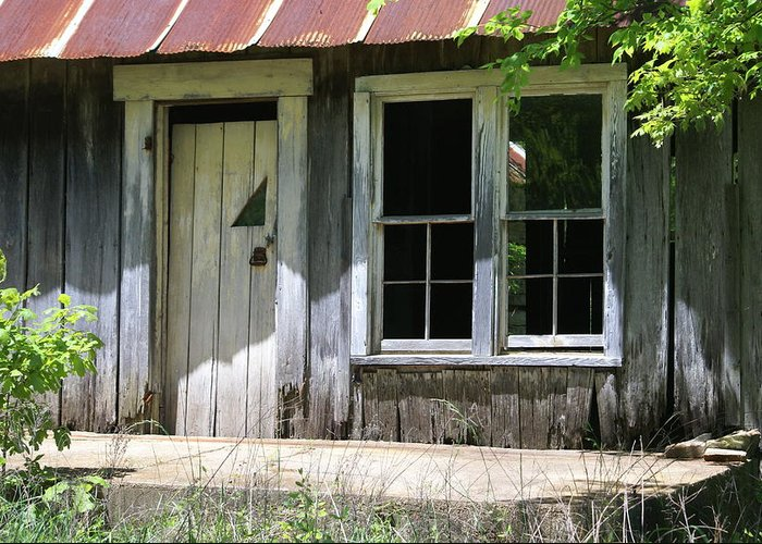 Historic Buildings Greeting Card featuring the photograph Ozark Homestead by Marty Koch