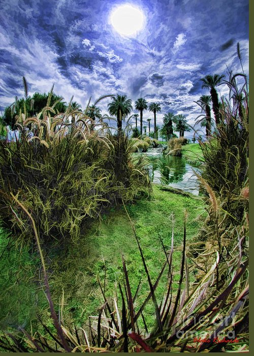 Art Photographyfine Artfine Art Photographyart Printsimage Artart's Photographyphotography Showphotography Artnature Artphoto Galleriesphotographic Artprofessional Photographer Greeting Card featuring the photograph Palm Desert Sky by Blake Richards