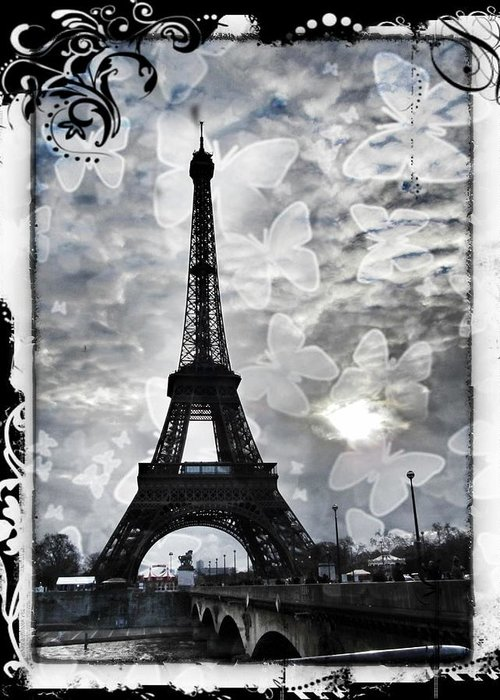 Paris Greeting Card featuring the photograph Paris by Marianna Mills
