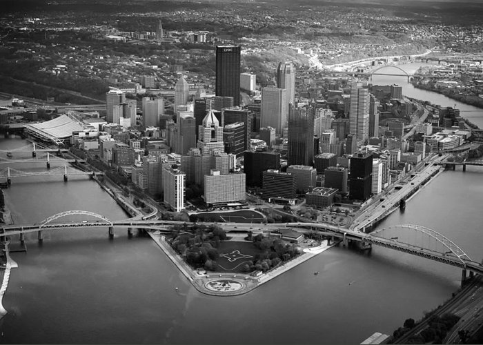 Steelers Greeting Card featuring the photograph Pittsburgh 8 by Emmanuel Panagiotakis