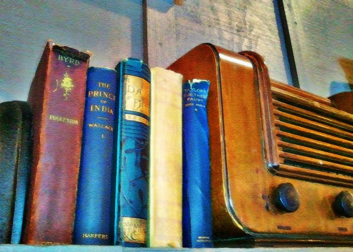 Radio Print Greeting Card featuring the photograph Radio by Robert Smith