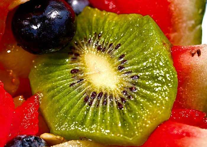 Fruit Greeting Card featuring the photograph Refreshing by Christopher Holmes