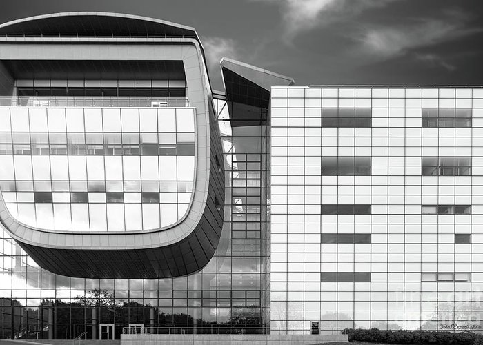 Empac Greeting Card featuring the photograph Rensselaer Polytechnic Institute Empac by University Icons