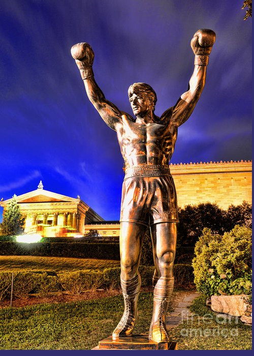 Rocky Greeting Card featuring the photograph Rocky by Paul Ward