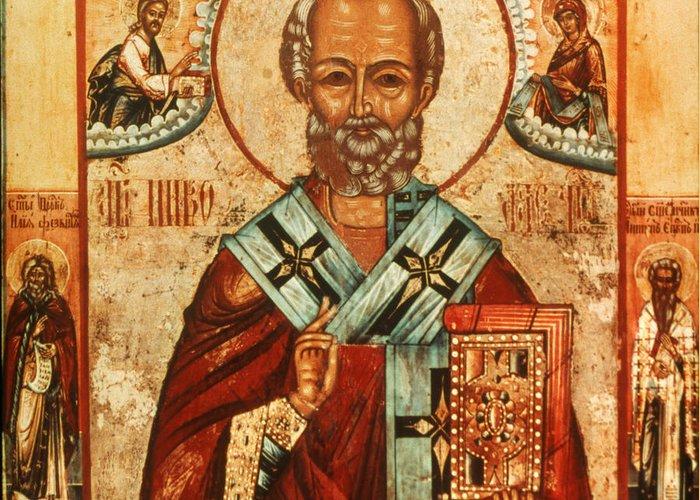 Beard Greeting Card featuring the photograph Saint Nicholas by Granger