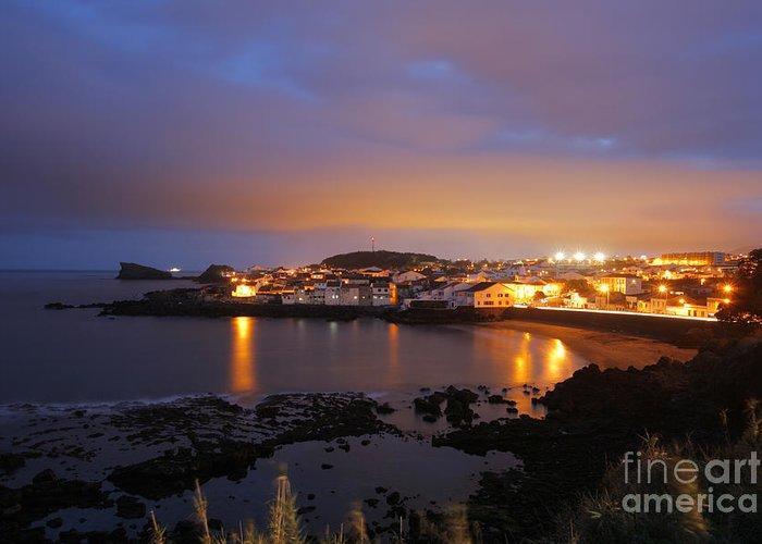 Sao Roque Greeting Card featuring the photograph Sao Roque - Azores by Gaspar Avila