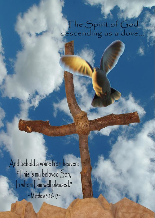 Pentecost Greeting Card featuring the photograph Spirit Of God by Robyn Stacey