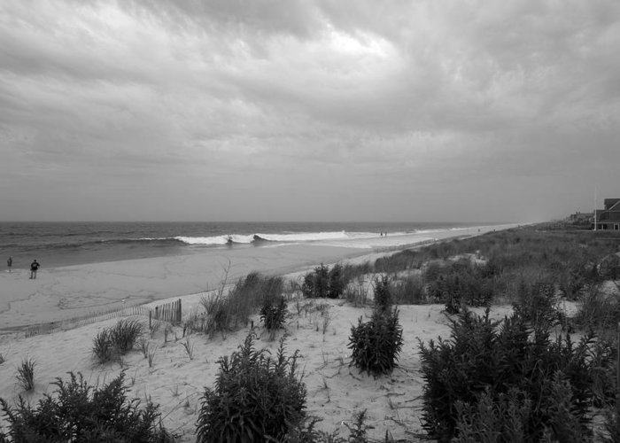Jersey Shore Greeting Card featuring the photograph Storm Approaching - Jersey Shore by Angie Tirado