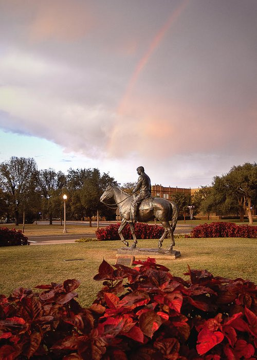 Texas Tech University Greeting Card featuring the photograph Texas Tech University by Ilker Goksen