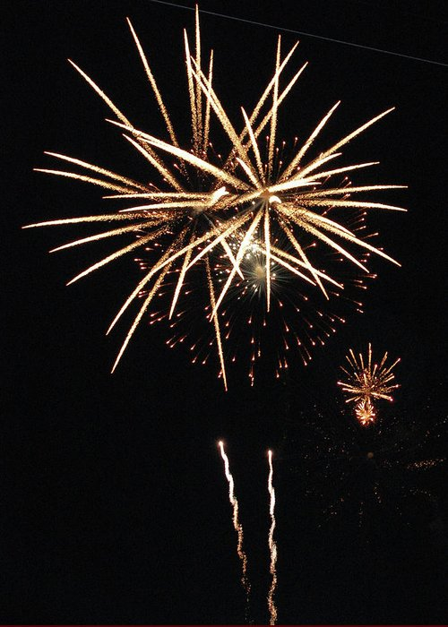 Fireworks Greeting Card featuring the photograph The Bright Idea by Edward Congdon