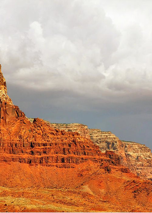 Vermilion Cliffs Greeting Card featuring the photograph The Condor's Land by Christine Till