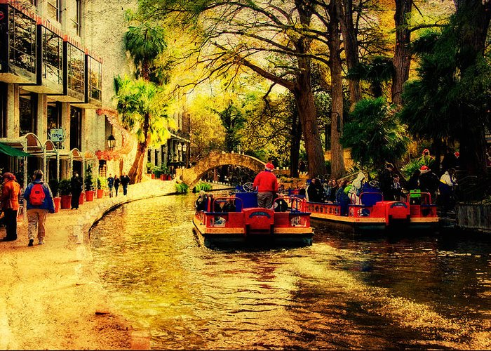 Boats Greeting Card featuring the photograph The Ride by Iris Greenwell