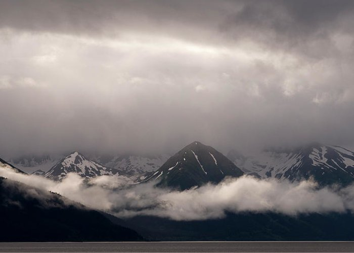 Alaska Greeting Card featuring the photograph Turnagain Arm by Andy-Kim Moeller