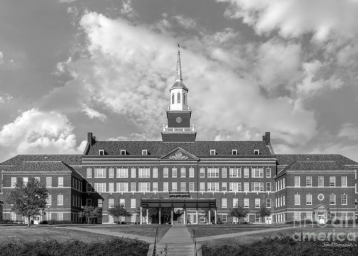American Greeting Card featuring the photograph University Of Cincinnati Mc Micken Hall by University Icons