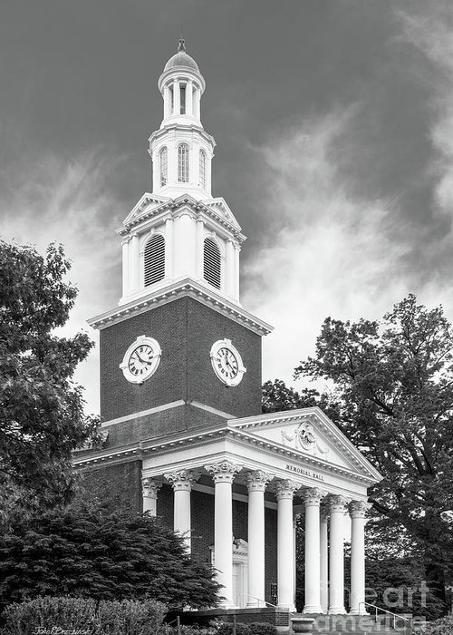 Flagship Greeting Card featuring the photograph University Of Kentucky Memorial Hall by University Icons