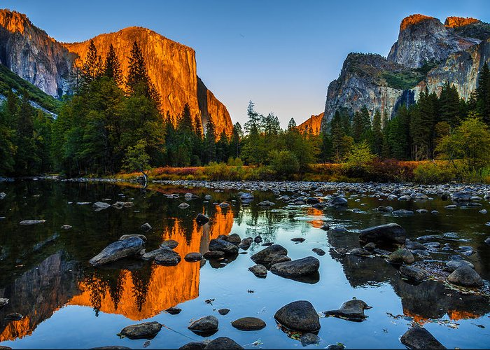 California Greeting Card featuring the photograph Valley View Yosemite National Park by Scott McGuire