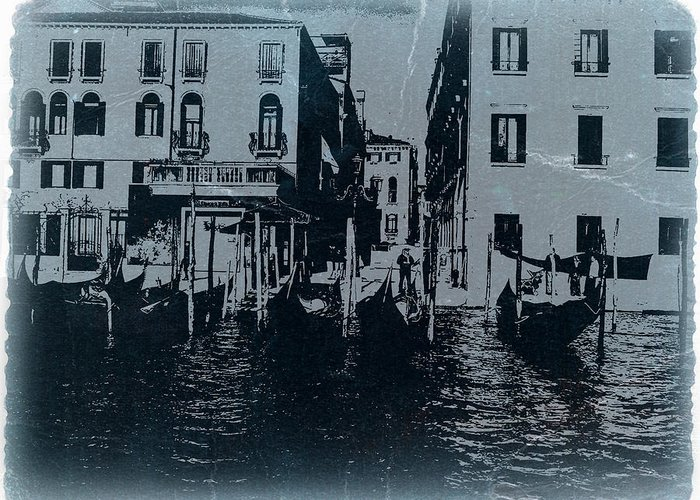 Venice Greeting Card featuring the photograph Venice by Naxart Studio