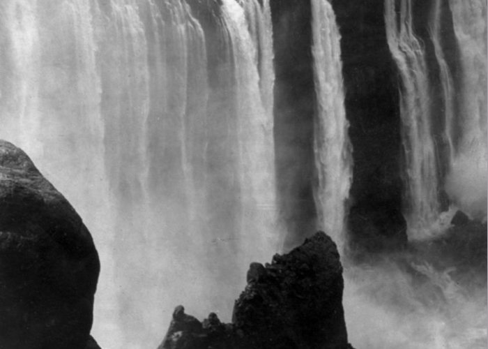 victoria Falls Greeting Card featuring the photograph Victoria Falls - C 1911 by International Images