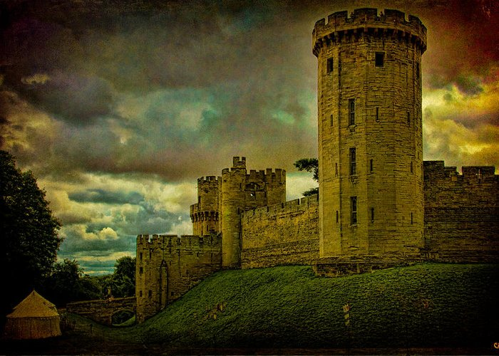 Castle Greeting Card featuring the photograph Warwick Castle by Chris Lord