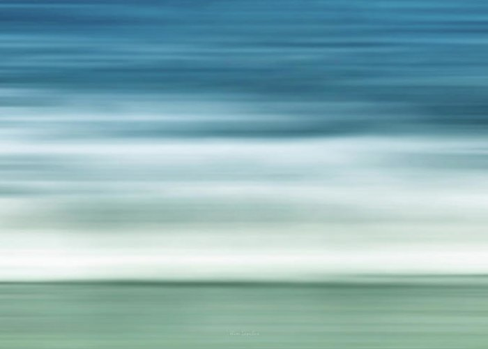 Waves Greeting Card featuring the photograph Waves by Wim Lanclus