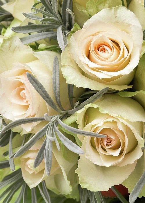 Roses Greeting Card featuring the photograph Wedding Flowers by Wim Lanclus