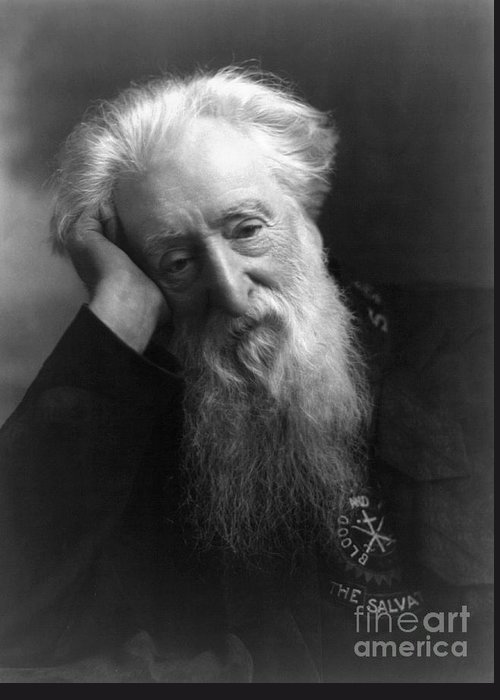 1907 Greeting Card featuring the photograph William Booth (1829-1912) by Granger