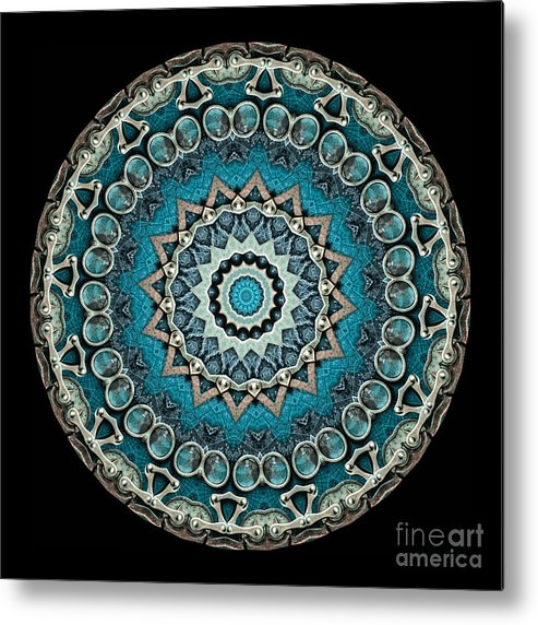 Fantasy Metal Print featuring the photograph Kaleidoscope Steampunk Series by Amy Cicconi