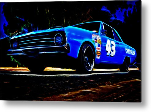 Chrysler Valiant Metal Print featuring the photograph 1970 Chrysler Valiant by Phil 'motography' Clark