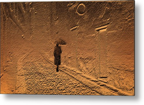 Mystical Metal Print featuring the photograph Mystical Journey Of The Shadow Of Your Soul In Extraneous World by Jenny Rainbow