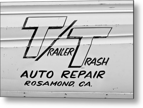 Auto Repair Metal Print featuring the photograph Trailer Trash by Phil 'motography' Clark