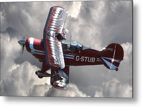 Pitts Metal Print featuring the photograph Cloud Dancer by Kris Dutson