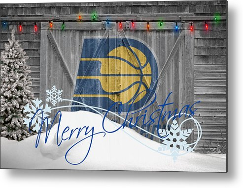 Pacers Metal Print featuring the photograph Indiana Pacers by Joe Hamilton