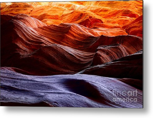 America Metal Print featuring the photograph Rough Sea by Inge Johnsson